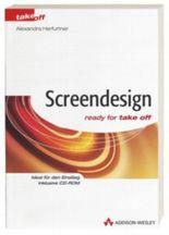 Screendesign, m. CD-ROM
