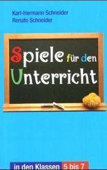 Spiele für den Unterricht in den Klassen 5-7