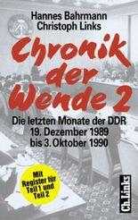 Stationen der Einheit, Die letzten Monate der DDR