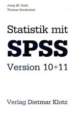 Statistik mit SPSS Version 10+11