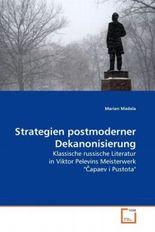 Strategien postmoderner Dekanonisierung