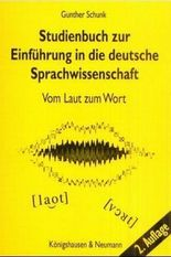 Studienbuch zur Einführung in die Deutsche Sprachwissenschaft