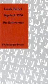 Tagebuch 1920 /Die Reiterarmee