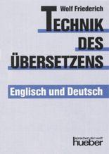 Technik des Übersetzens – Englisch und Deutsch