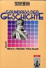 TEMPORA - Grundriss der Geschichte - Ausgabe 1992. Sekundarstufe II