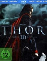 Thor 3D, Limited Edition, 1 Blu-ray + Digital Copy