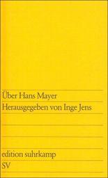 Über Hans Mayer