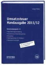 Umsatzsteuer Handausgabe 2011/12