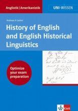 Uni-Wissen Anglistik /Amerikanistik / History of English and English Historical Linguistics
