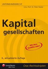 Unternehmensrecht (HR) - Kapitalgesellschaften