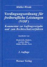 Verdingungsordnung für freiberufliche Leistungen (VOF)