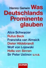 Was Deutschlands Prominente glauben