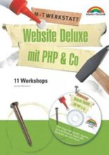 Website Deluxe mit PHP & Co., m. CD-ROM