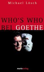 Who's who bei Goethe