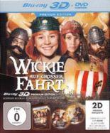 Wickie auf großer Fahrt 3D, Premium Edition, 1 Blu-ray