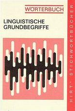 Wörterbuch - Linguistische Grundbegriffe