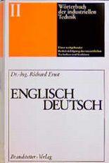 Worterbuch Der Industriellen Technik (German Edition) (v. 2)