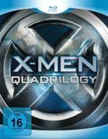 X-Men Quadrilogy, Limited Edition, 4 Blu-rays