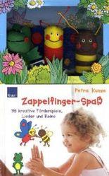Zappelfinger-Spaß, m. 3 Fingerpuppen