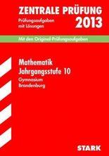 Zentrale Prüfung Gymnasium Brandenburg / Mathematik Jahrgangsstufe 10, 2012