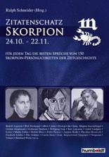 Zitatenschatz Skorpion - 24.10.-22.11.