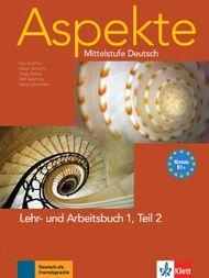 Aspekte 1 (B1+) in Teilbänden - Lehr- und Arbeitsbuch Teil 2 mit Audio-CD