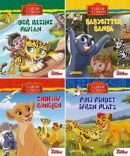 Nelson Mini-Bücher: 4er Disney Die Garde der Löwen 1-4