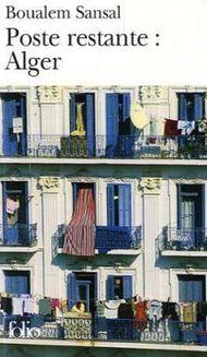 Poste restante: Alger. Postlagernd: Algier, französische Ausgabe
