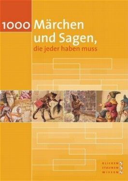 1000 Märchen und Sagen, die jeder haben muss, 1 CD-ROM