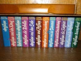 12 Bände ANGELIQUE von Anne Golon (komplette Saga )