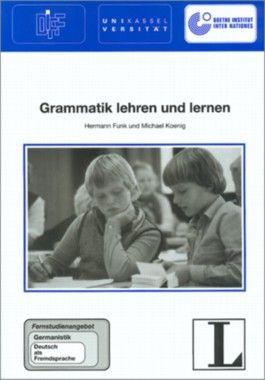 1: Grammatik lehren und lernen