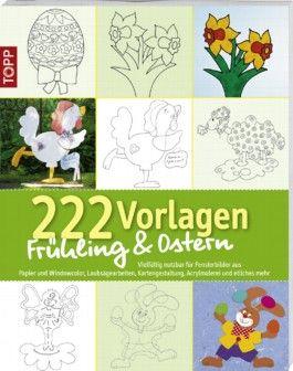 222 Vorlagen Frühling / Ostern