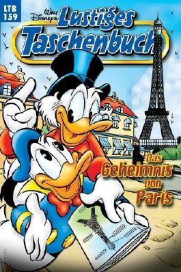 Lustiges Taschenbuch LTB 159 - Das Geheimnis von Paris