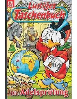 Walt Disney: LTB Lustiges Taschenbuch Band 205: Die Adelsprüfung - Donald Duck und Micky Maus Comics für deine Sammlung