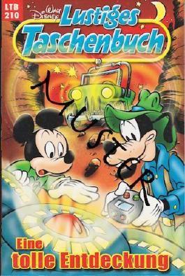 Walt Disney: LTB Lustiges Taschenbuch Band 210: Eine tolle Entdeckung - Donald Duck und Micky Maus Comics für deine Sammlung