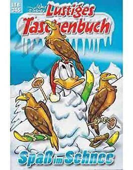 Walt Disney: LTB Lustiges Taschenbuch Band 345: Spaß und Schnee - Donald Duck und Micky Maus Comics für deine Sammlung