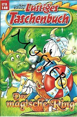 Lustiges Taschenbuch LTB Nr. 148 - Der magische Ring  Walt Disneys