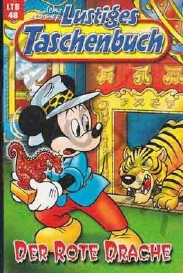 Lustiges Taschenbuch LTB Nr. - 48 Der rote Drache  Neuauflage