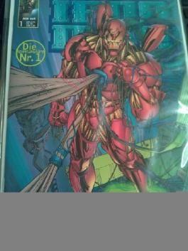 Wiedergeburt der Helden: Iron Man #7 (1999, Panini) Zustand 1