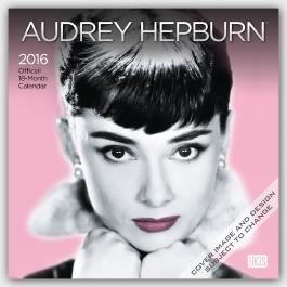 Audrey Hepburn 2016 - 18-Monatskalender