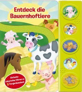 Entdeck die Bauernhoftiere - Labyrinth-Soundbuch