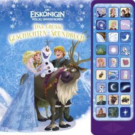 Disney Die Eiskönigin, 27-Button-Soundbuch - Das große Geschichten-Soundbuch - Hardcover-Buch - 3 Geschichten und 27 spannende Geräusche zu dem Disney Film