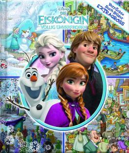 Die Eiskönigin - Disney - Verrückte Such-Bilder extragroß - Hardcover-Wimmelbuch für Kinder ab 3 Jahren im XXL Format