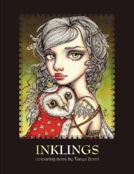 INKLINGS colouring book by Tanya Bond: Coloring book for adults & children, featuring 24 single sided fantasy art illustrations by Tanya Bond. In this ... animals & other charming creatures.: Volume 1