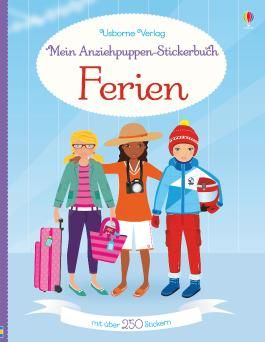 Mein Anziehpuppen-Stickerbuch: Ferien