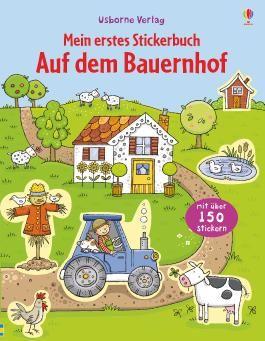 Mein erstes Stickerbuch: Auf dem Bauernhof