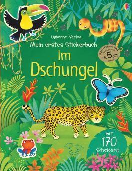 Mein erstes Stickerbuch: Im Dschungel (Jubiläumsausgabe)