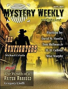 Mystery Weekly Magazine: April 2018 (Mystery Weekly Magazine Issues)