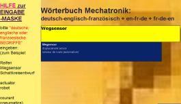 Uebersetzungen in deutsch-englisch-franzoesisch + fr-de-en + en-de-fr: Woerterbuch Automatisierungstechnik/ Kfz-Mechatronik/ Elektronik/ ... engineering /information technology