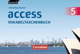 English G Access - Allgemeine Ausgabe / Abschlussband 5: 9. Schuljahr - Vokabeltaschenbuch